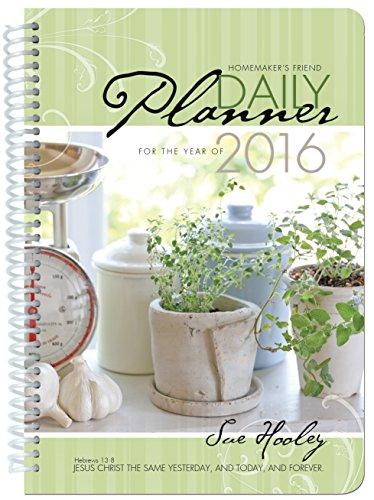 2016 Daily Planner: Hooley, Susanna