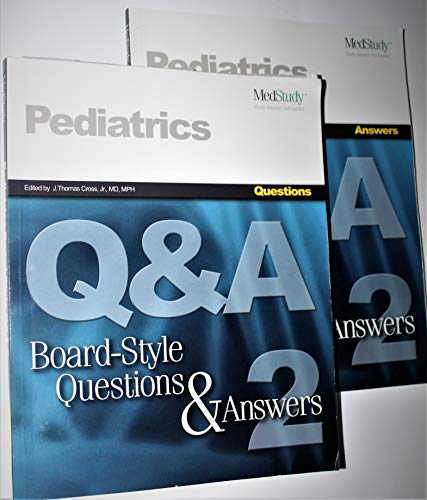 9781932703108: Medstudy: Pediatrics Board-Style Questions & Answers