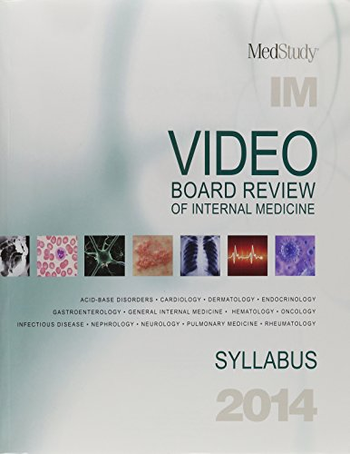 9781932703689: 2014 Video Board Review of Internal Medicine