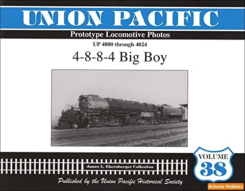 9781932704303: Union Pacific Prototype Locomotive Photos UP 4000 through 4024 4-8-8-4 Big Boy (38)