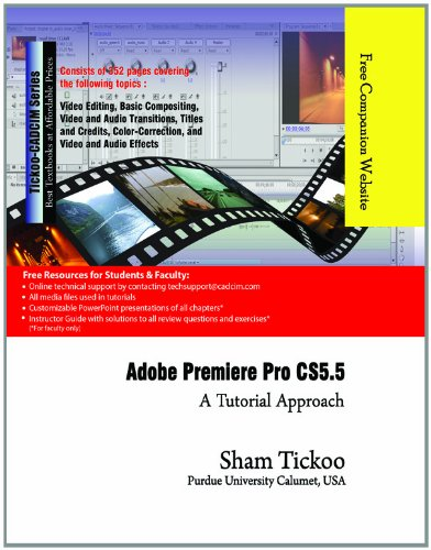 9781932709957: Adobe Premiere Pro CS5.5: A Tutorial Approach