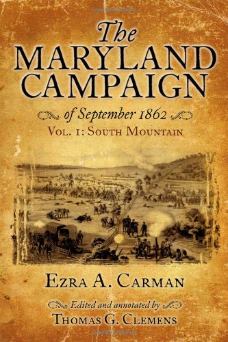 9781932714814: The Maryland Campaign of September 1862: Volume 1, South Mountain