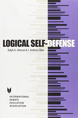 9781932716184: Logical Self-Defense (Key Titles in Rhetoric, Argumentation, and Debates)