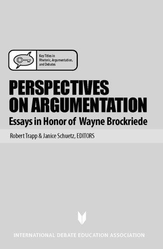 9781932716191: Perspectives on Argumentation: Essays in Honor of Wayne Brockriede