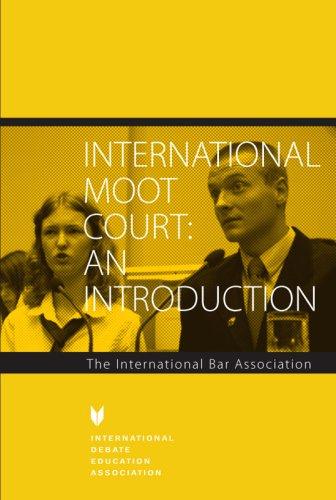 9781932716436: International Moot Court: An Introduction