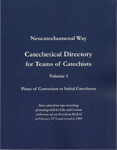 9781932717273: Catechetical Directory for Teams of Catechists, Vol. 1,