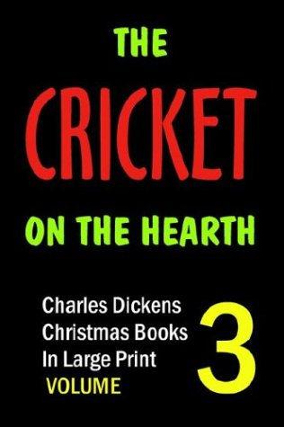 9781932732023: The Cricket on the Hearth (in Large Print)