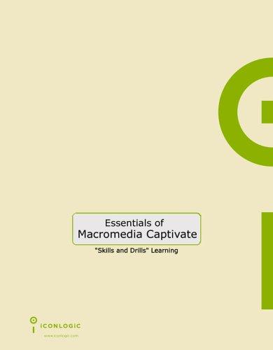 9781932733037: Essentials of Macromedia Captivate: Skills and Drills Workbook