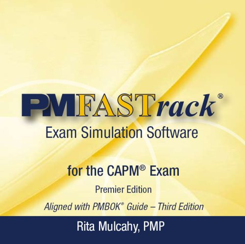 9781932735055: PM FASTrack: CAPM Exam Simulation Software, Premier Edition (CD-ROM)
