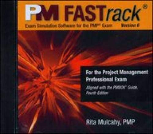 PM Fastrack Exam Simulation Software for the PMP Exam: Version 6 (1932735259) by Mulcahy, Rita