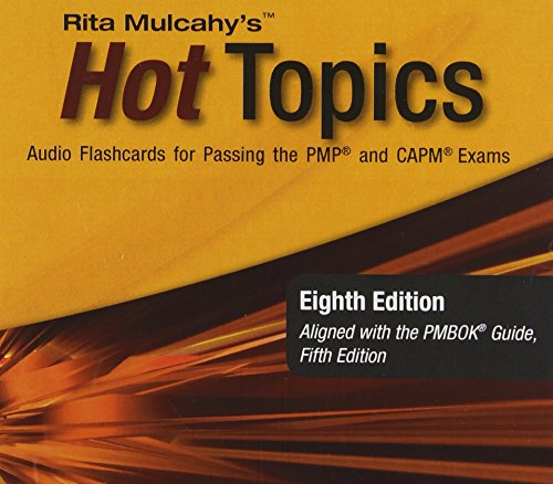 9781932735697: Hot Topics: Audio Flashcards for Passing the Pmp and Capm Exams