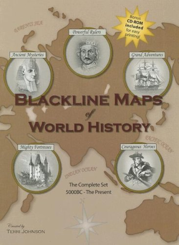 Blackline maps world history abebooks blackline maps of world history gumiabroncs Choice Image