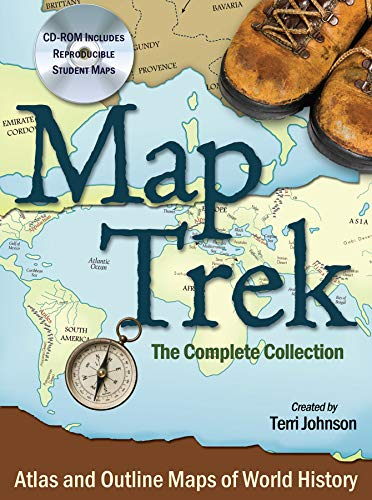 Map Trek The Complete Collection: Johnson, Terri