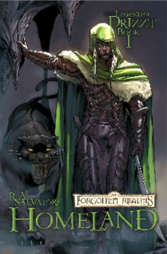 9781932796407: Forgotten Realms the Legend of Drizzt Book 1: Homeland