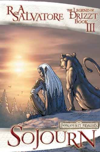 9781932796735: Forgotten Realms Legend of Drizzt Graphic Novels 3: Sojourn