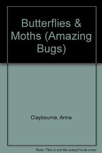 Butterflies & Moths (Amazing Bugs): Claybourne, Anna