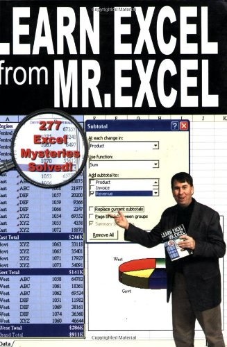 Learn Excel from Mr. Excel : 277: Bill Jelen