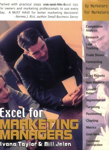 9781932802139: Excel for Marketing Managers (Excel for Professionals series)