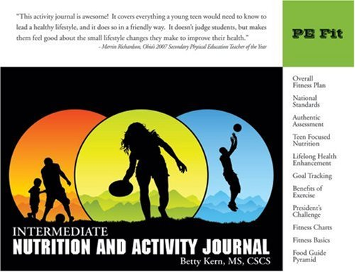 9781932802290: Intermediate Nutrition and Activity Journal (Personal Wellness series)
