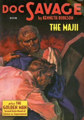 9781932806762: The Majii; and, The Golden Man: Two Classic Adventures of Doc Savage