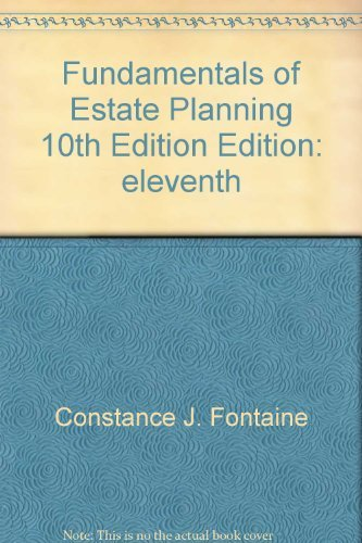 9781932819328: Fundamentals of Estate Planning, 10th Edition