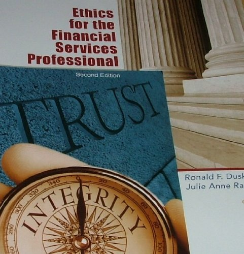 Ethics for the Financial Services Professional: Duska, Ronald F.