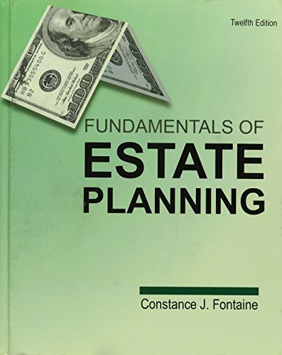 Fundamentals of Estate Planning: Constance J. Fontaine