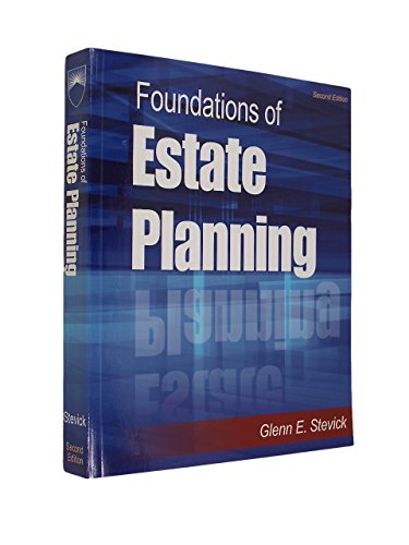 Foundations of Estate Planning