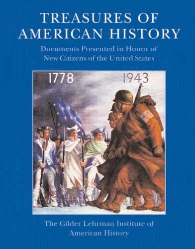 9781932821611: Treasures of American History: Documents Presented in Honor of New Citizens of the United States