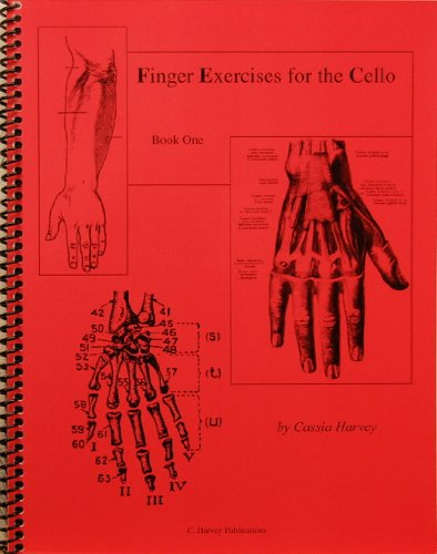Finger Exercises for the Cello, Book One: Harvey, Cassia
