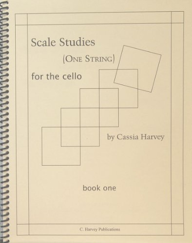 9781932823059: Scale Studies for the Cello (One String), Book One
