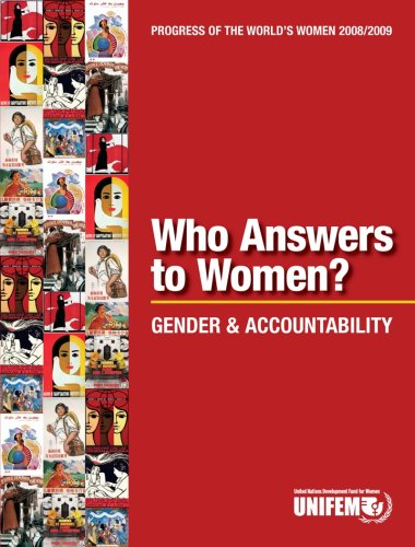 9781932827705: Progress of the World's Women 2008/2009, Who Answers to Women?: Gender and Accountability