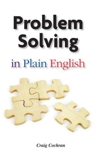 Problem Solving in Plain English: Craig Cochran