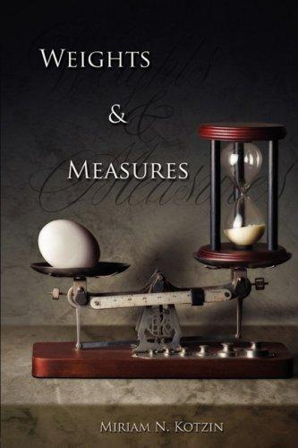 Weights Measures: Miriam N. Kotzin
