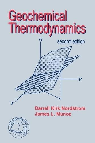 9781932846096: Geochemical Thermodynamics