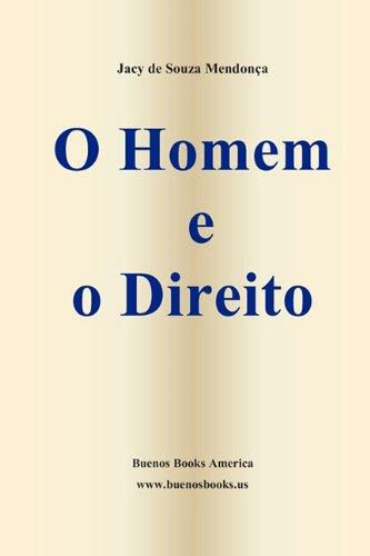 O Homem E O Direito (Paperback) - Jacy De Souza Mendon a