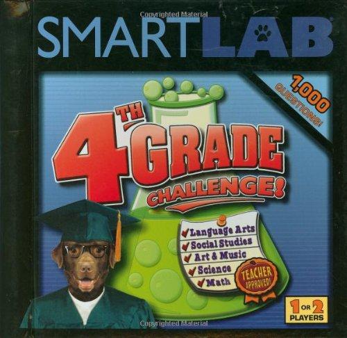 SMARTLAB: 4th Grade Challenge: Ages 9+: Jennifer Jacobson; Illustrator-Jim