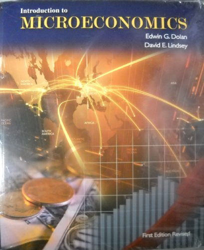 Introduction to MICROECONOMICS. 1st edition revised.: Dolan