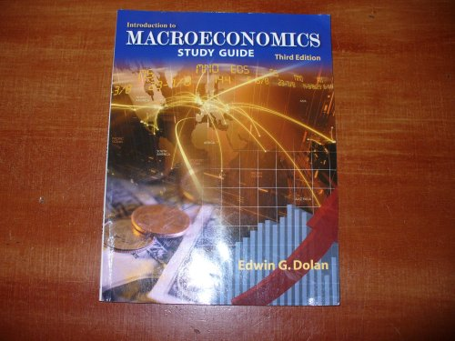 9781932856736: Introduction to Macroeconomics Study Guide