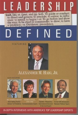 "Leadership Defined (The ""Must Read"" Book for executives, managers and everyone!): Patrick..."