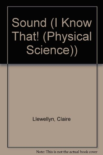 9781932889376: Sound (I Know That! (Physical Science))