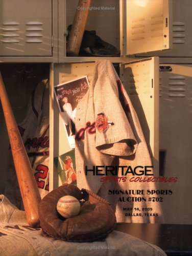 9781932899696: Heritage Sports Collectibles Signature Sports Auction, #702