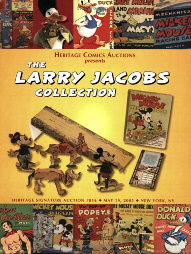 9781932899733: Heritage Comics Auctions (The Larry Jacobs Collection) Signature Auction, #816