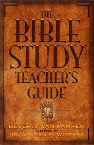 9781932902631: The Bible Study Teacher's Guide