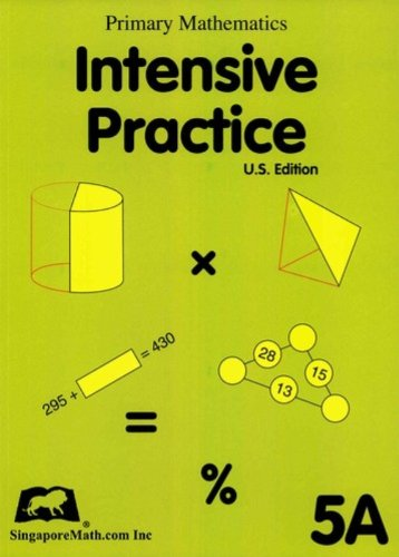 Primary Mathematics Intensive Practice U.S. Edition 5A