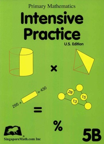 9781932906097: Primary Mathematics Intensive Practice U.S. Edition 5B