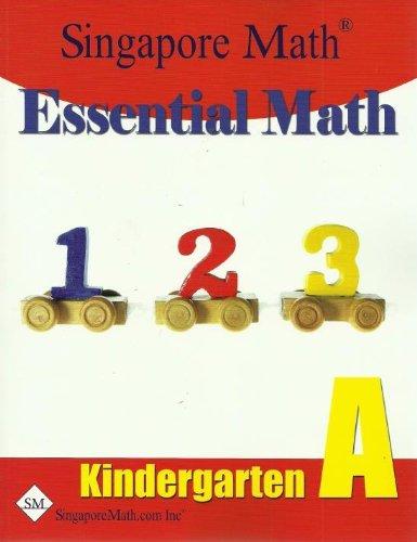 9781932906141: Essential Math, Kindergarten Level A