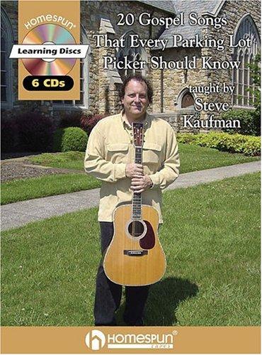 9781932964011: 1: 20 GOSPEL SONGS EVERY PARKING LOT PICKER SHOULD KNOW BK/CD 6 CDS