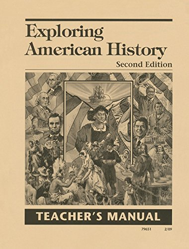9781932971460: Exploring American History Teacher's Manual