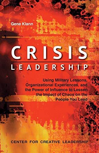 9781932973709: Crisis Leadership